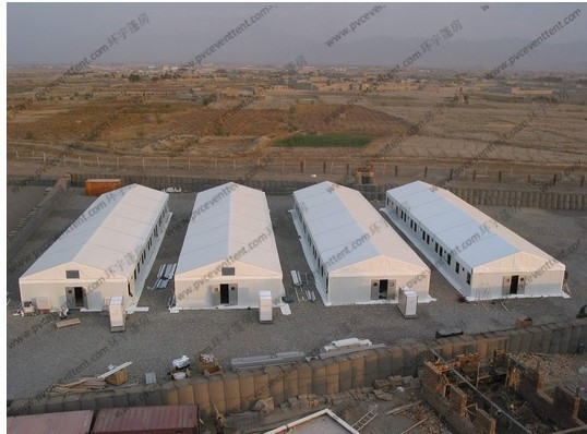 Economical Warehouse Storage Tent , Large Storage Tents With Aluminum Frame